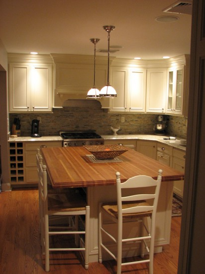 Ivory White Kitchen Cabinets